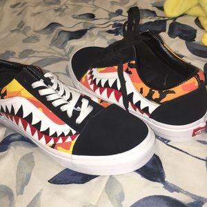 92ee106c211f X X Poshmark Shoes Vans Bape Custom v5wnW